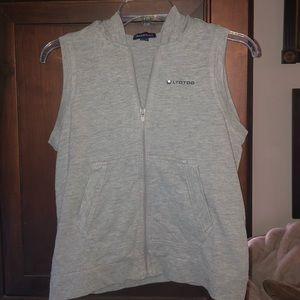 Vintage girls Limited Too tunic zip up vest